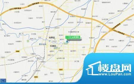 万汇金宸国际交通图