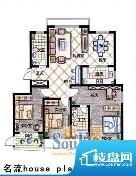德居一品名流 3室2厅面积:160.26m平米