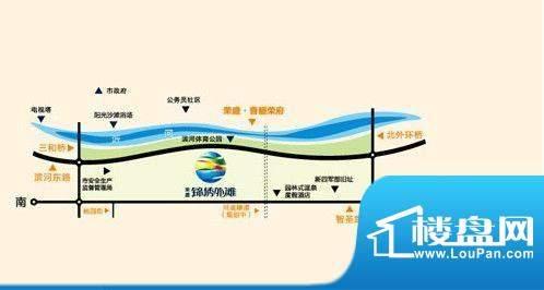 荣盛·锦绣外滩交通图