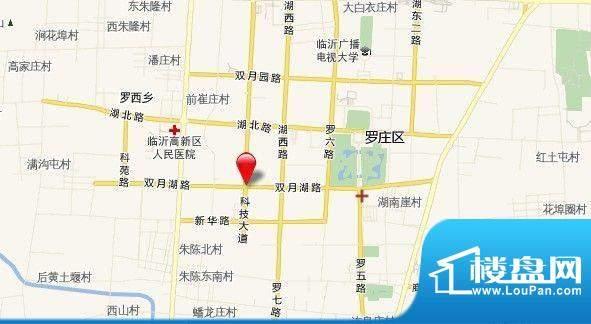 宝丽·凤凰城交通图