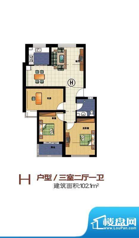 宝丽·凤凰城h 面积:0.00m平米