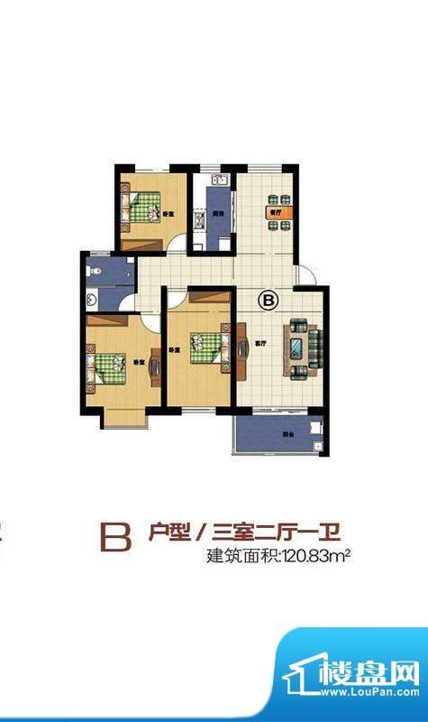 宝丽·凤凰城b 面积:0.00m平米