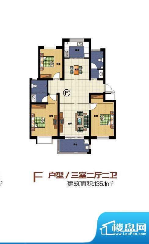 宝丽·凤凰城f 面积:0.00m平米