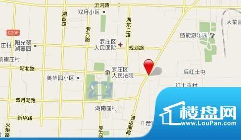 江泉国际交通图