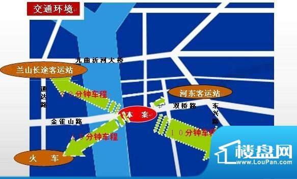 东华苑交通图