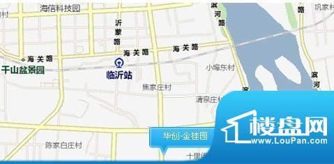 华创·金桂园交通图