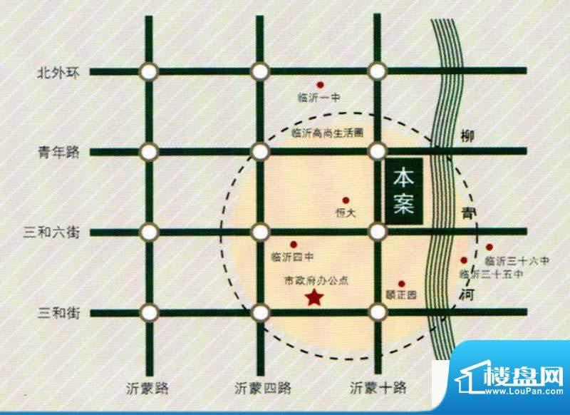 月澜锦程交通图
