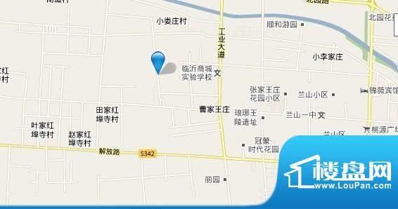 金泰华城交通图