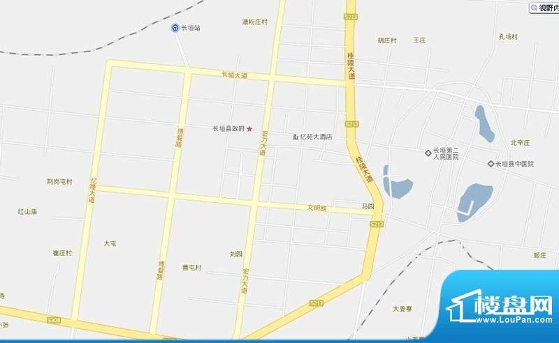锦绣钻石城交通图