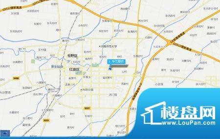 华艺郡府交通图