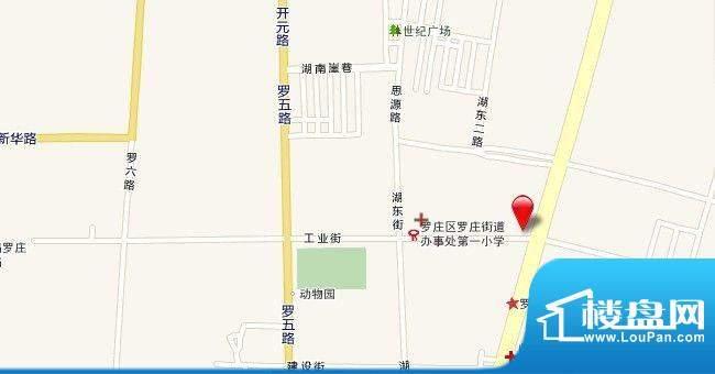 美华·润景交通图