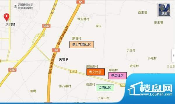 崇文社区交通图