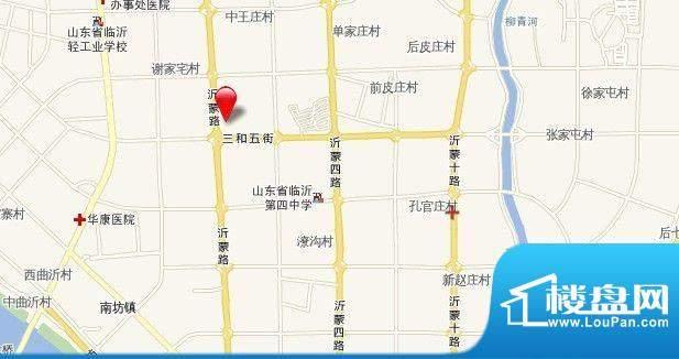 万和中央广场交通图