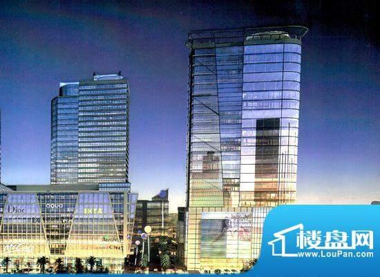 万和中央广场实景图