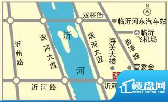 名都国际交通图