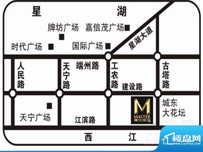 万仕酒店交通图