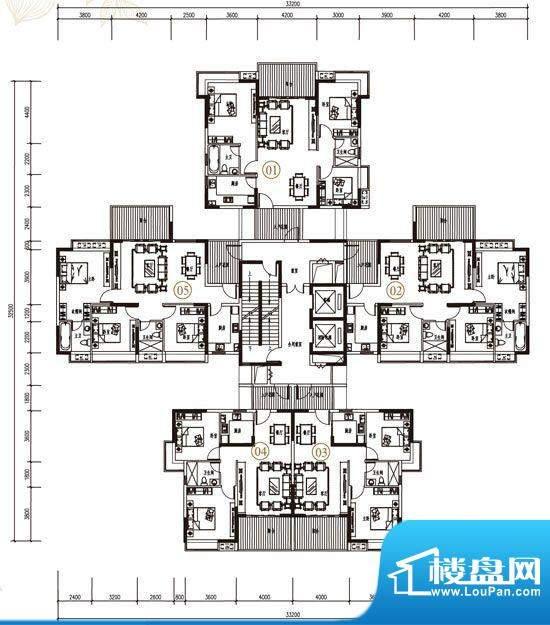 金凯盛·誉城4栋1单面积:0.00m平米