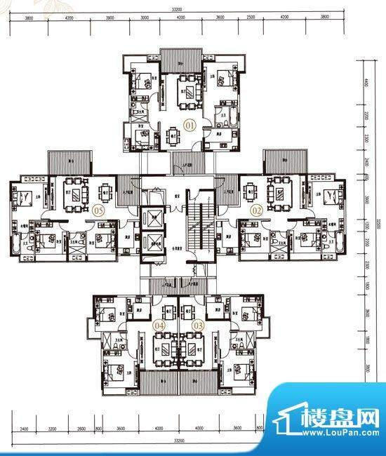 金凯盛·誉城4栋2单面积:0.00m平米