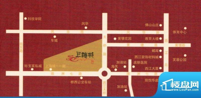 上海城交通图