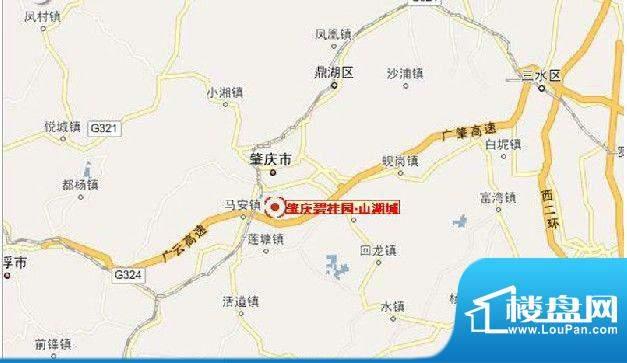 肇庆碧桂园·山湖城交通图