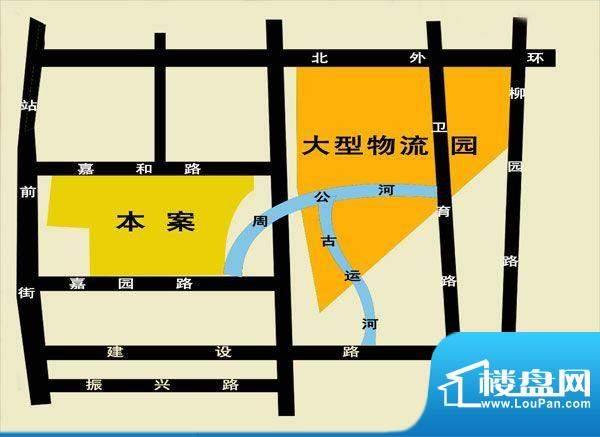 裕昌·水岸新城交通图