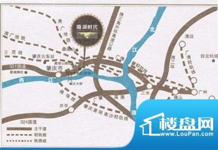 鼎湖时代交通图