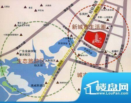 泰湖新城交通图