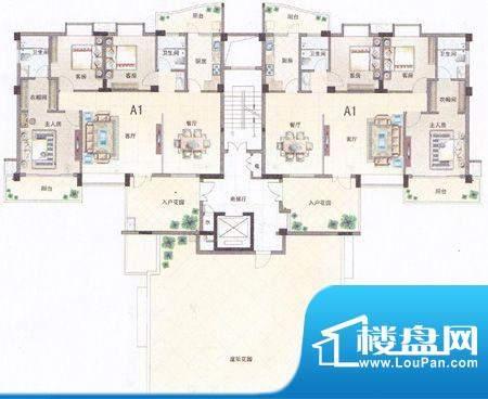 泰湖新城户型图 面积:0.00m平米