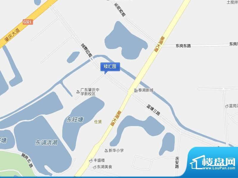 臻汇园交通图
