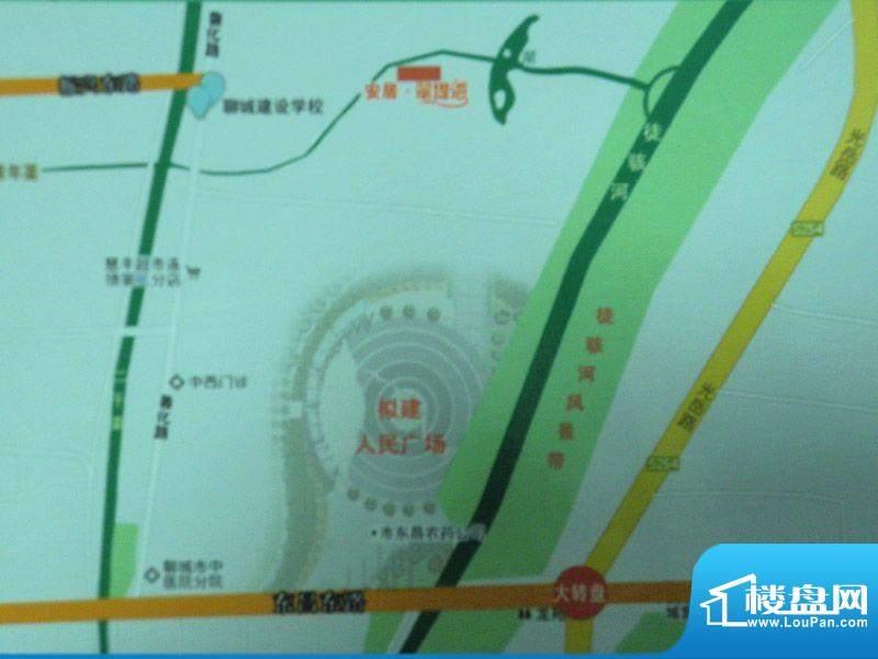 翠堤湾交通图