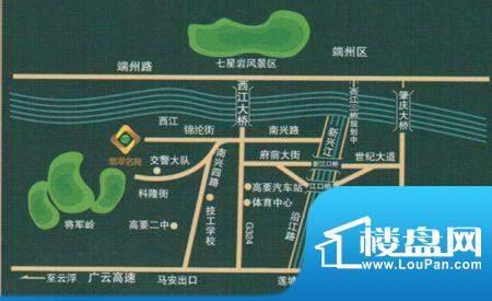 翡翠名苑交通图