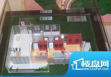 翡翠名苑户型模型 面积:0.00m平米
