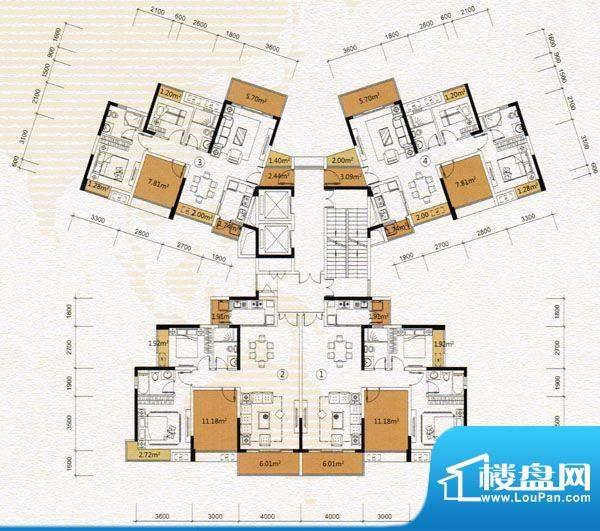 尚城国际A5栋 面积:0.00m平米