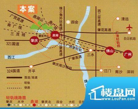 美华·天湖丽景交通图