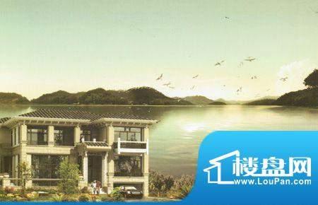 臻湖畔岛效果图
