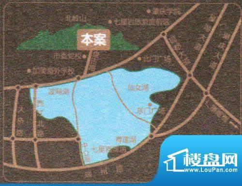 鸿景·紫园交通图