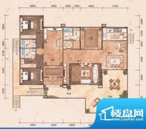 鸿景·紫园G独栋别墅面积:0.00m平米