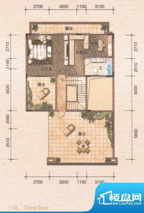 鸿景·紫园B4联排别面积:0.00m平米
