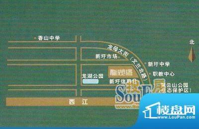 中恒·龙湖湾交通图