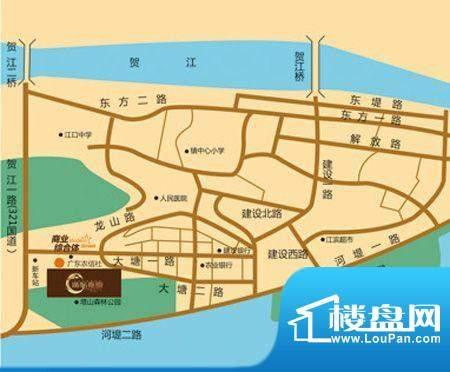 广信嘉园交通图
