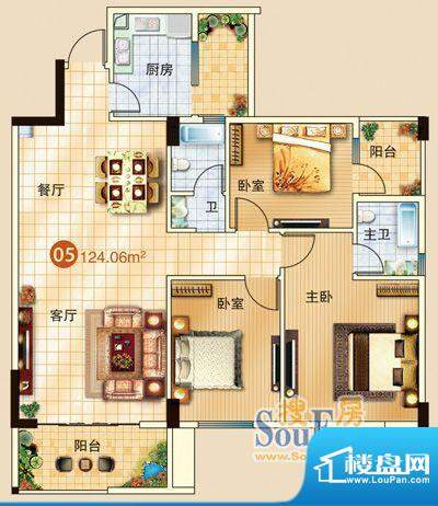 广信嘉园18栋标准05面积:0.00m平米