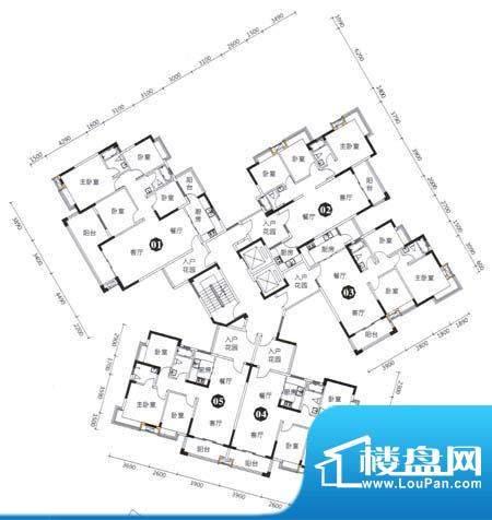 发现美院2座3栋标准面积:0.00m平米