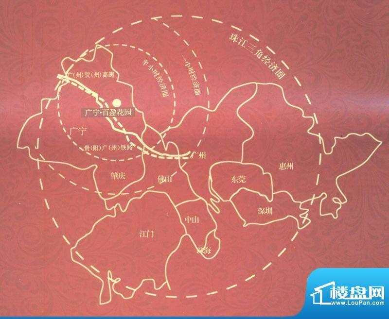 百盈国际交通图