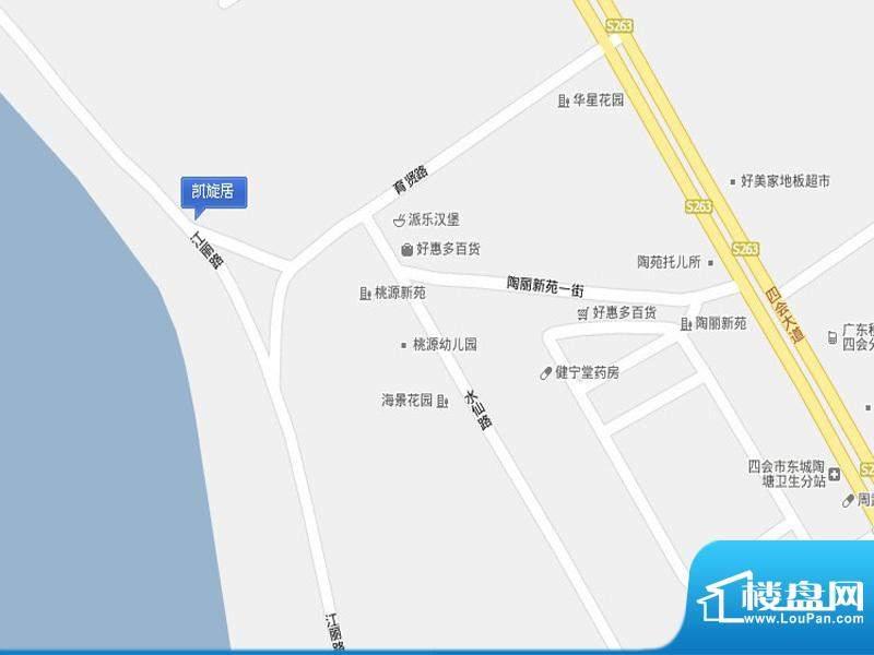 凯旋豪庭交通图