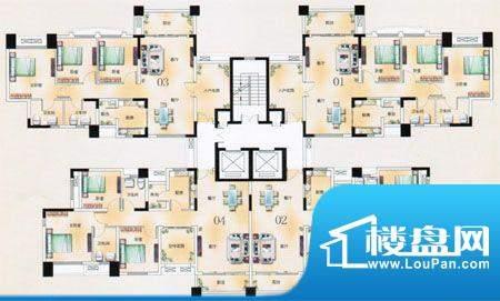 凯旋豪庭T4栋2至17层面积:0.00m平米