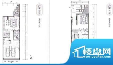 六合台A1-1 4室3厅6面积:428.50m平米