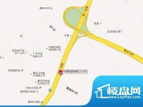 中国砚都端砚文化村交通图