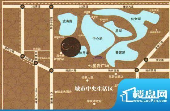 新世界·岭南府交通图