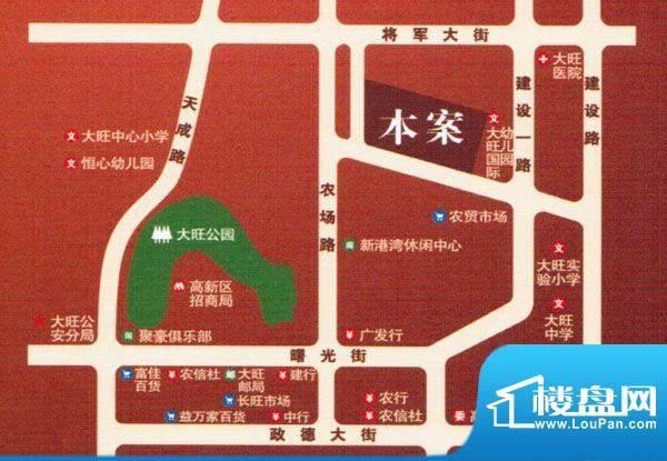 旺城壹号交通图
