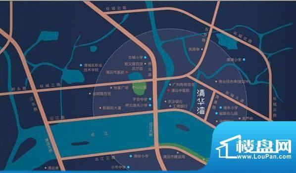 明日清华湾交通图